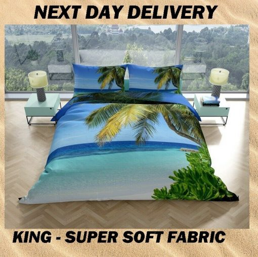 Tropical Island quilt cover