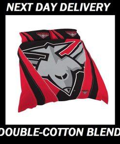 Essendon Bombers Licensed Quilt Duvet Doona Bedding Cover Sets