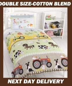 Farm Animals Quilt Cover