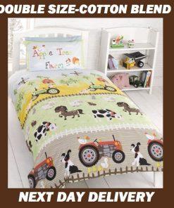 Farm Animals Quilt Cover