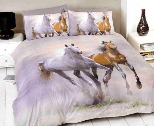Galloping Horses Kids Doona