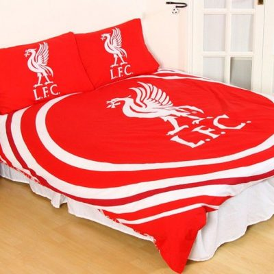 Liverpool Football Club Duvet Double Doona Quilt Bedding Cover Set
