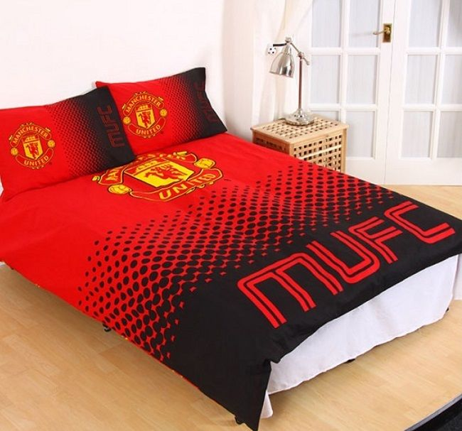 Manchester United Football Kids Licensed Quilt Duvet
