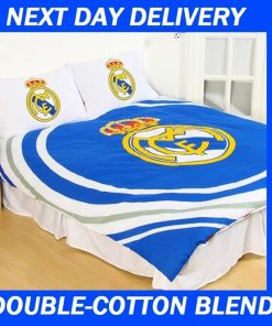 Real Madrid FC Licensed Quilt Duvet Doona Bedding Cover Sets