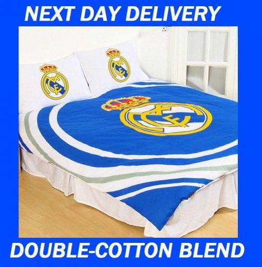Real Madrid FC Licensed Quilt Duvet Doona Bedding Cover Sets