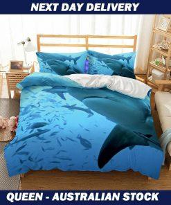 Ocean Fish Quilt cover