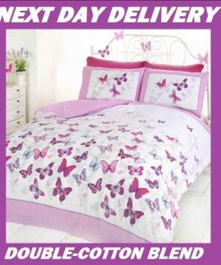 Butterfly Kids Quilt Cover
