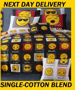 Emoji Kids Quilt Cover