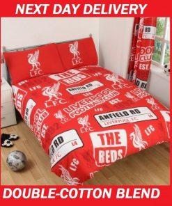 Liverpool Football Club Double Quilt Doona