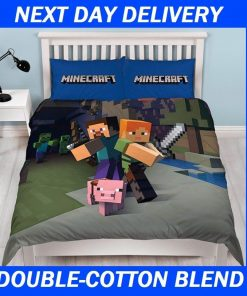 Minecraft Kids Quilt Cover