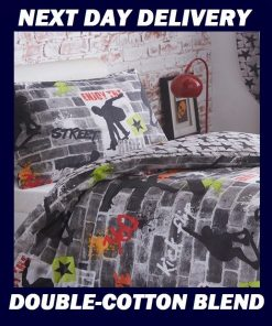 Skateboard Graffiti Doona Cover