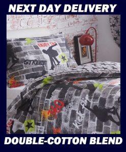 Skateboard Graffiti Doona Cover