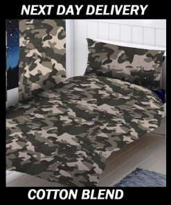 Army Camouflage Doona Cover