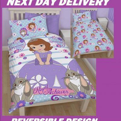 Disney Princess Sofia Duvet Doona Quilt Bedding Single Cover Set