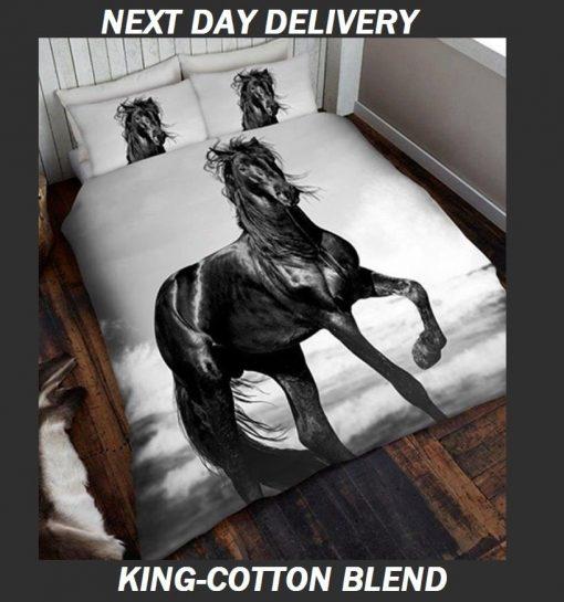 Black Horse Doona Cover