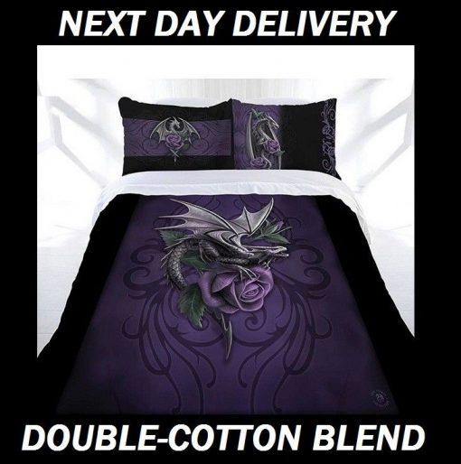 Anne Stokes Dragon Beauty Double Doona Cover Set Duvet Quilt