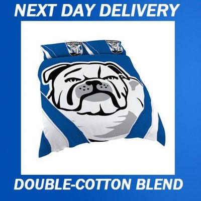 Canterburry Bulldogs Licensed Quilt Duvet Doona Bedding Cover Sets