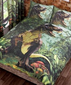 Dinosaur T-rex Kids Quilt