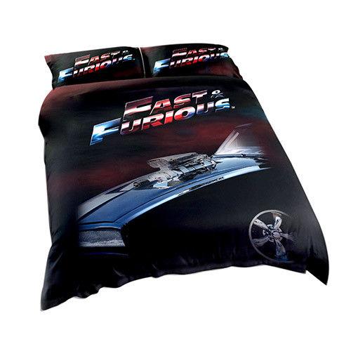 Express Car Sales >> Fast & Furious Licensed Quilt Duvet Doona Bedding Cover Sets