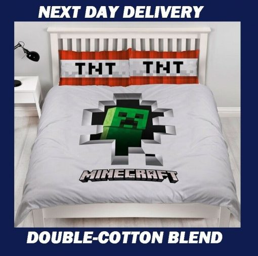 Minecraft Double Doona Cover
