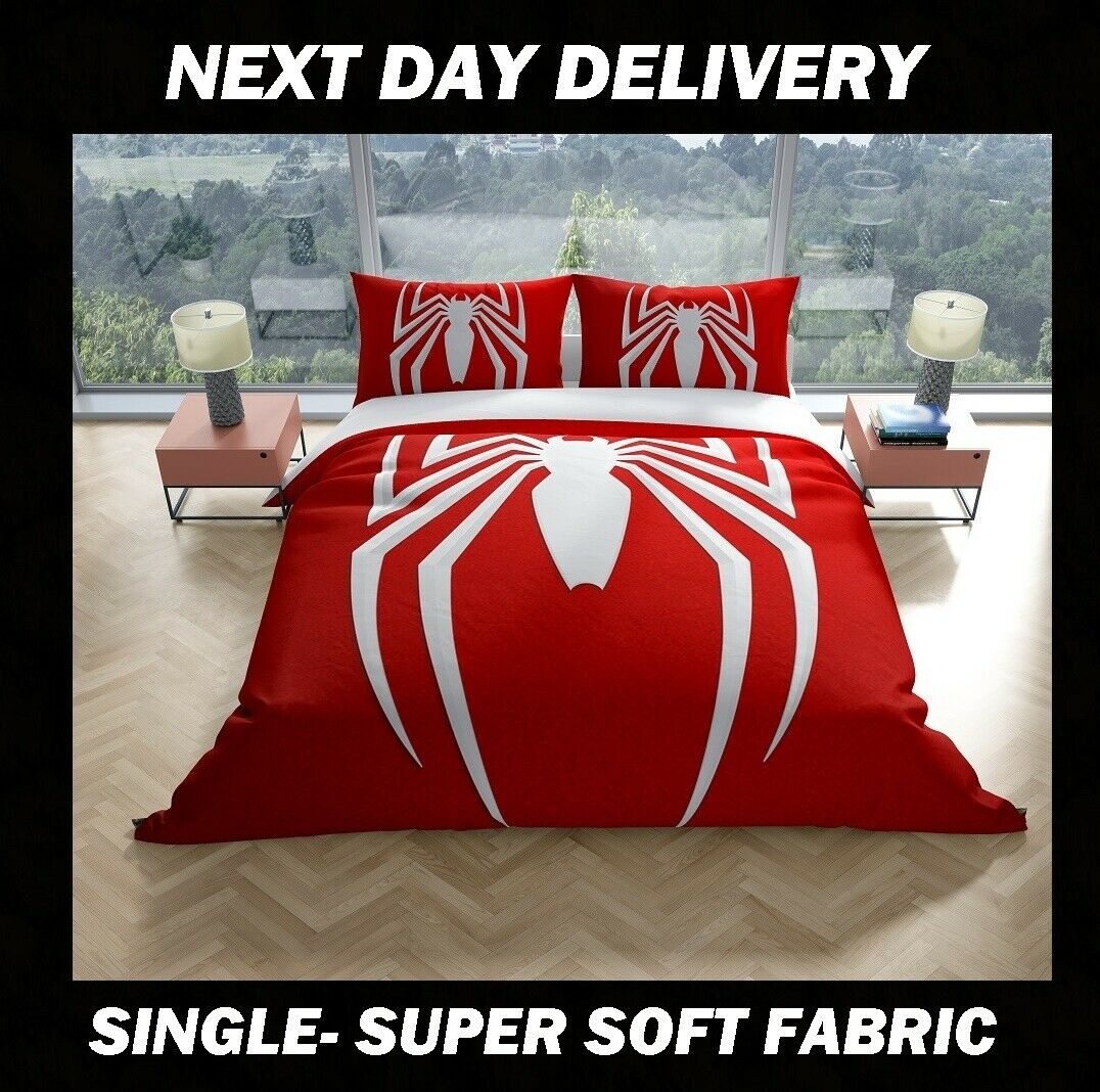 Spiderman Single Quilt cover