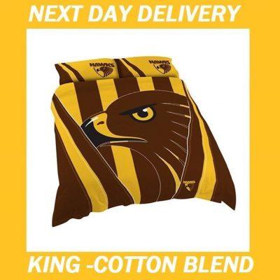 Hawthorn Hawks King Quilt Cover set