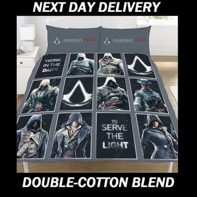 Assassins Creed Legacy Quilt Duvet Doona Bedding Cover