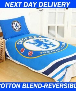 Chelsea Football Club Licensed Quilt Duvet Doona Bedding Cover Sets
