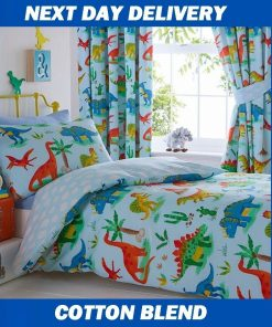 Dinosaur Single Quilt Cover set, Boys