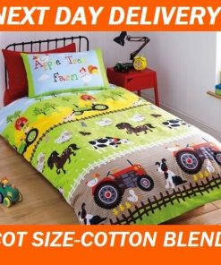 Farm Tractor Quilt Cover