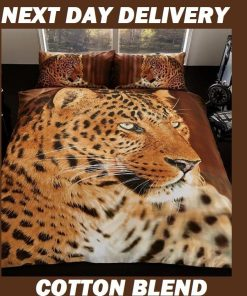 Leopard Animal Quilt Cover