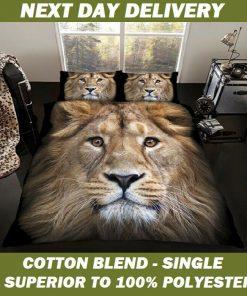Lion Doona cover