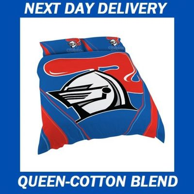 Newcastle Knights Licensed Quilt Duvet Doona Bedding Cover Sets