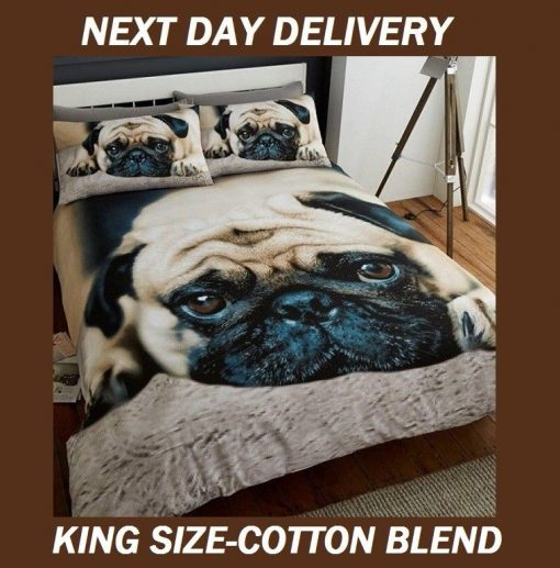 Pug Quilt Cover