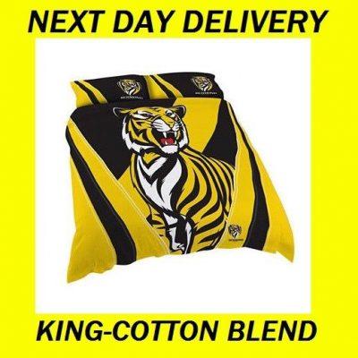 Richmond Tigers King Duvet Doona Quilt Bedding Cover Set