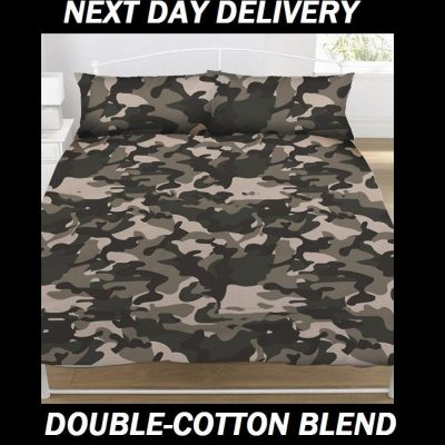 Army Camouflage Double Licensed Quilt Duvet Doona Bedding
