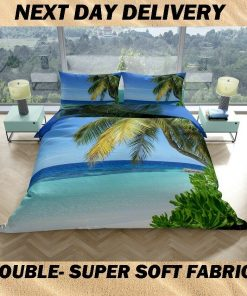 Beach Double Quilt cover