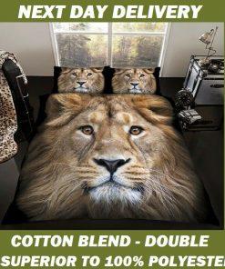 Lion Quilt Cover