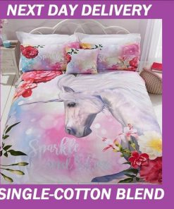 Unicorn Sparkle Doona Cover