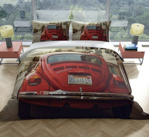 VW Beetle quilt cover