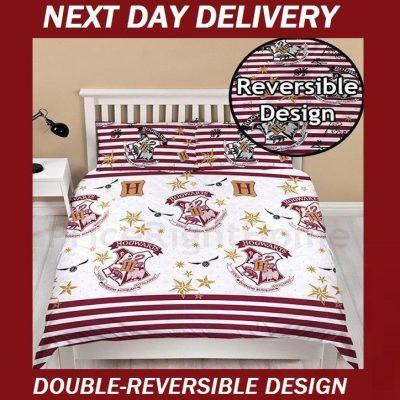 Harry Potter Duvet Double Doona Quilt Bedding Cover Set Merchandise