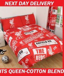 Liverpool Football Club Queen Quilt Doona