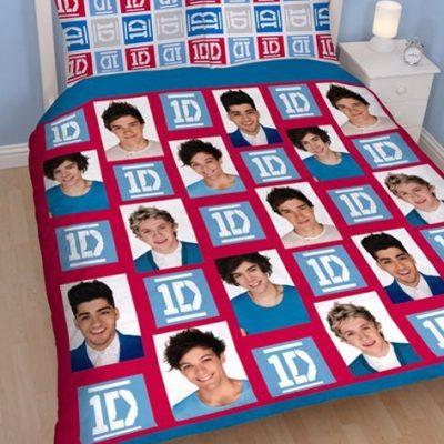 One Direction Kids Licensed Quilt Duvet Bedding Cover Sets