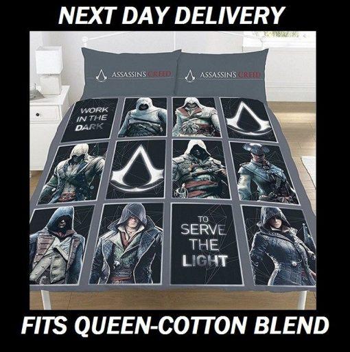 Assassins Creed Duvet Queen
