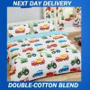 Boys Construction Quilt Cover