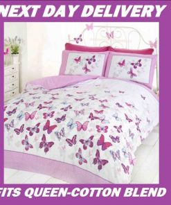 Butterflies Kids Quilt Cover