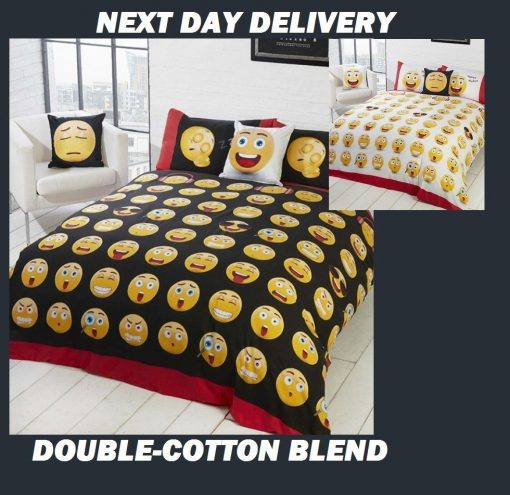 Emoji Expressions Quilt Cover