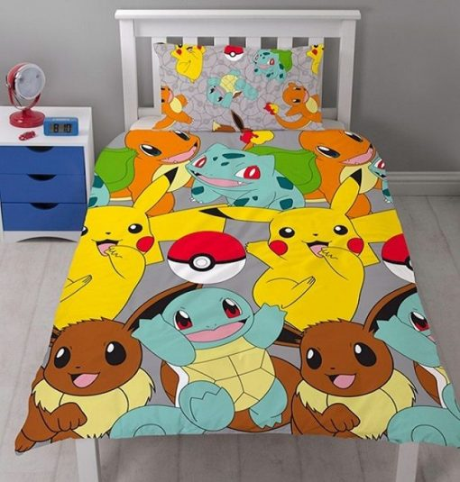 Pokemon Catch quilt cover Set bedding