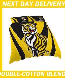 Richmond Tigers Licensed AFL Quilt Duvet Doona Bedding Cover Sets