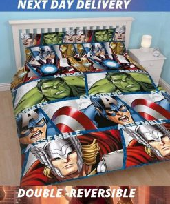 Marvel Avengers Bedding Cover